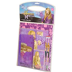 Hannah Montana 11 Piece School Set