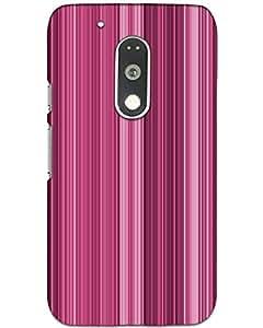 MobileGabbar Moto G4 Play Back Cover Plastic Hard Case