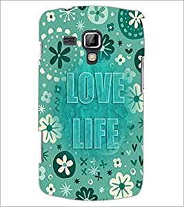 PrintDhaba Quote D-3683 Back Case Cover for SAMSUNG GALAXY S DUOS S7562 (Multi-Coloured)
