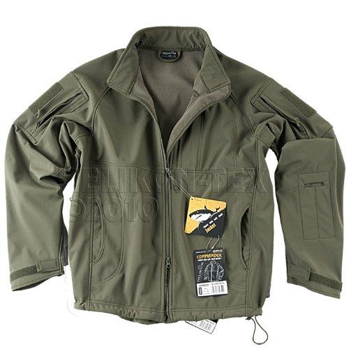 Helikon Commander Soft Shell Mens Windproof Jacket Olive