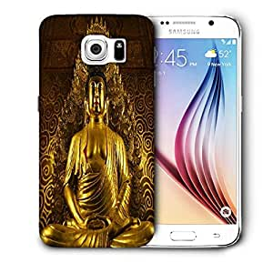 Snoogg Bhudda Printed Protective Phone Back Case Cover For Samsung Galaxy S6 / S IIIIII