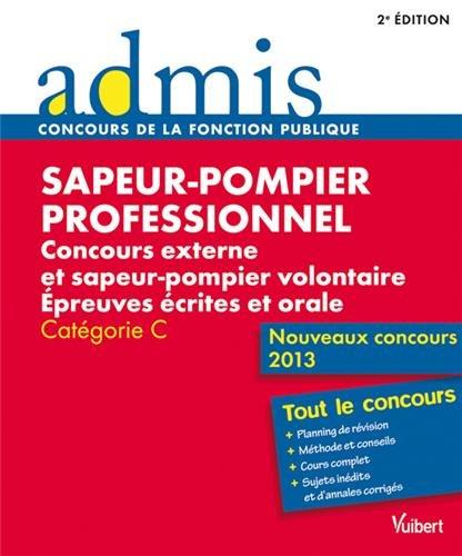 Concours Sapeur-pompier professionnel
