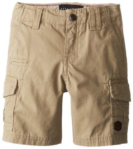 Billabong Little Boys' Kids Scheme Shorts, Light Khaki, 4 front-572562
