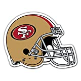 NFL Authentic Jumbo Auto Magnet (San Francisco 49ers)