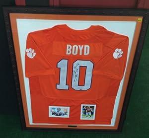 Tajh Boyd autographed Clemson Tigers jersey by Man+Cave+Pro+Memorabilia