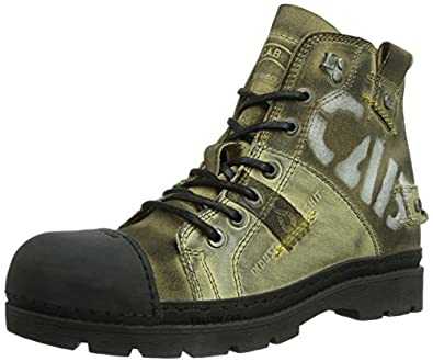 yellow cab atwork m herren combat boots schuhe. Black Bedroom Furniture Sets. Home Design Ideas