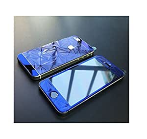 Hashcart Colorful Tempered Screenguard For iPhone 6 6S Mobile Premium 3D Coloured Electroplated