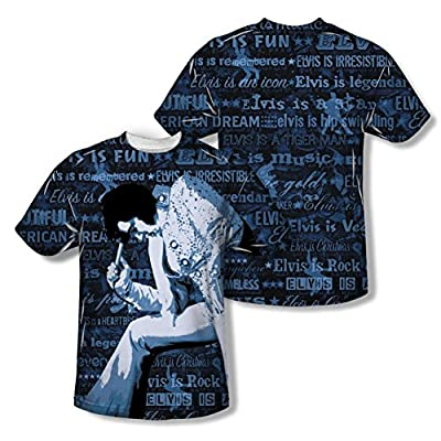 Elvis Presley Is Everything All Over Print Front / Back T-Shirt