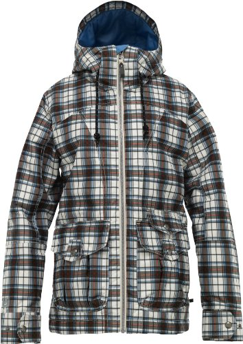 Burton Damen Snowboardjacke METHOD, canvas gypsy plaid, Gr. L, 253751