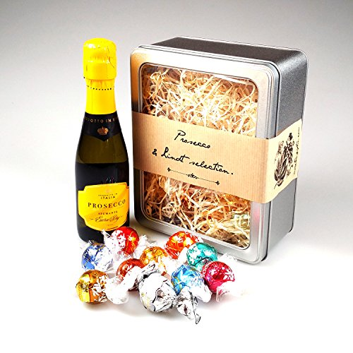 The Prosecco Champagne & Lindt Selection - Perfect Mother's Day, Birthday, Graduation Gift! - By Moreton Gifts!