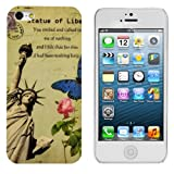 Kwmobile® Hard case City design (New York) for Apple iPhone 5 / 5S