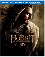 The Hobbit: The Desolation of Smaug (Blu-ray 3D + Blu-ray + DVD + Digital HD UltraViolet Combo Pack) from New Line Home Video