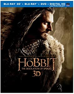 The Hobbit: The Desolation of Smaug (Blu-ray 3D + Blu-ray + DVD + Digital HD UltraViolet Combo Pack)