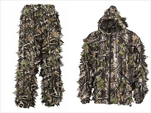 SwedTeam Super Natural Camouflage Leafy Hunting Suit (Large)