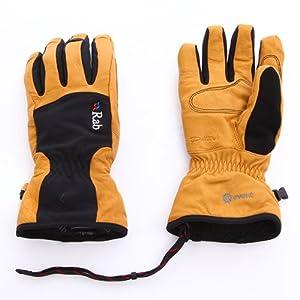 ラブ QAG-61 Guide Glove イエロー×ブラック M【Mens】