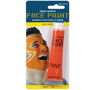 AMSCAN Face Paint, 1-Ounce, Orange