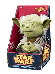 "Underground Toys Star Wars 9"" Talking Plush - Yoda by Underground Toys"