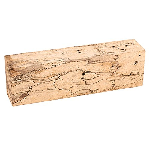 """Tamarind, Spalted 1"""" X 1-1/2"""" X 5"""" Knife Scale 1-Piece"""