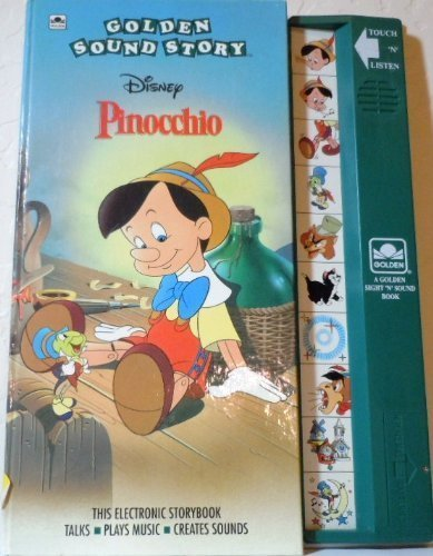 Walt Disney's Pinocchio: Golden Sound Story Book (A Golden Sight and Sound Book)