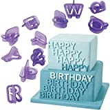 Imported 40x Alphabet Letter Number Fondant Cake Biscuit Baking Mould Cookie Cutters