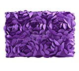 Ubesta Fashion recién nacido 3d fotografía Photo Props rosas fondo manta rug-purple