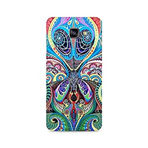 Ebby Psychedelic Alien Premium Printed Case For Samsung A710 2016 Version