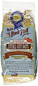 Bob's Red Mill Oats Steel Cut, 24-Ounce