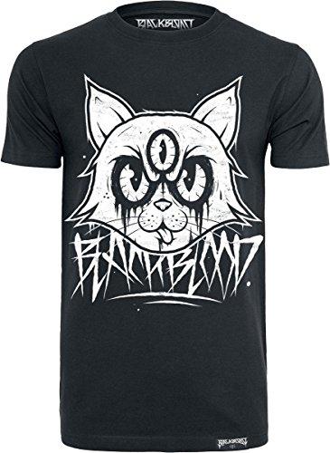 Black Blood Mad Kitty T-Shirt nero M