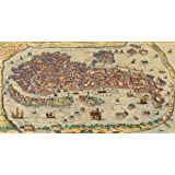 Artifact Puzzles - Old Venice Map Wooden Jigsaw Puzzle