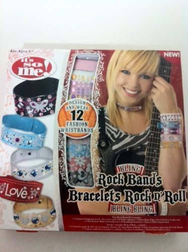 Its So Me! Bling Rock Bands Kit