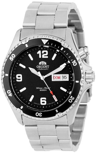 Orient Men's 'Black Mako' Automatic Dive Watch CEM65001B