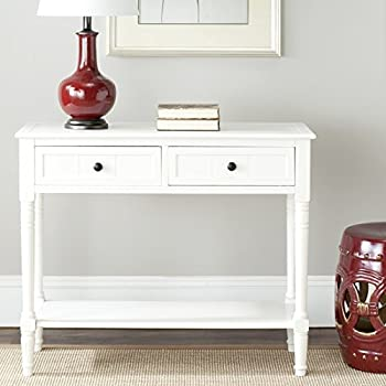 Safavieh American Home Collection Console Table, Distressed Cream