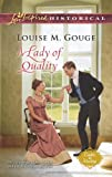 img - for A Lady of Quality (Love Inspired Historical\Ladies in Waiti) book / textbook / text book