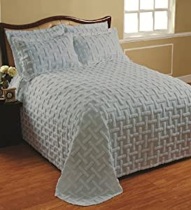 Cody Direct, Chronos Twin Bedspread Blue: Amazon.co.uk