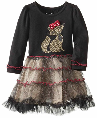 Novatx Little Girls comfortable Cat Animal Tutu Dresses