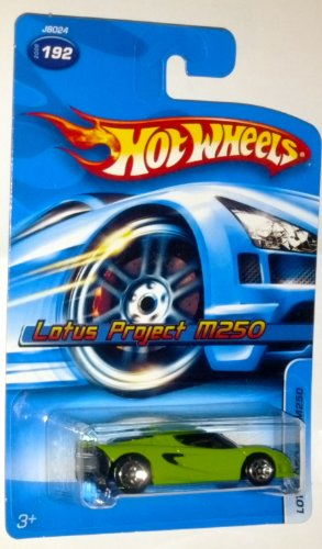 Hot Wheels 2006 Lotus Project M250 #192 1:64 Scale Die-Cast Vehicle - 1