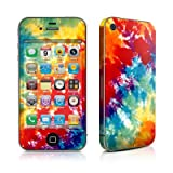 Tie Dyed Design Protective Skin Decal Sticker for Apple iPhone 4 16GB 32GB