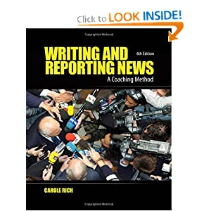 Writing and Reporting News - Carole Rich