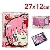 Shugo Chara Hinamori Ami pink Wallet Coin Bag