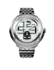 RSW Men's 9130.BS.S0.25.F1 Volante Diamond Green and White Dial Sub-second Luminous Stainless Steel Bracelet Watch