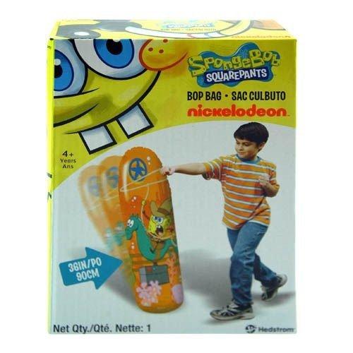 """Sponge Bob Inflatable 36"""" Bop Bag For Indoor & Outdoor Fun front-1035719"""