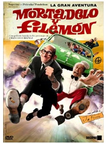 Mortadelo & Filemon: The Big Adventure [DVD]