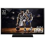 Vu VU32D6545 81 Cm (32 Inches) Full HD LED TV (Black)