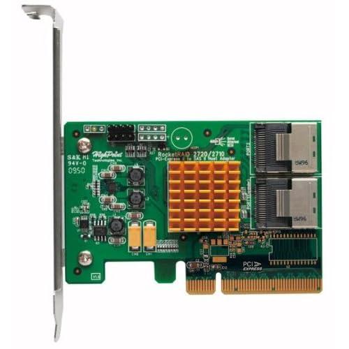 HighPoint-Rocket-2720SGL-Internal-8-Port-PCI-Express-2-0-x8-SAS-SATA-Non-Raid-Co