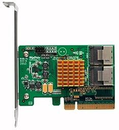 HighPoint 8-Port PCI-Express 2.0 x8 SAS/SATA 6Gb/s non-RAID Controller Components Rocket 2720SGL