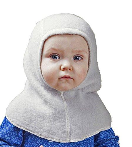 LANACARE Organic Merino Wool Balaclava/Nelson Hat for Baby