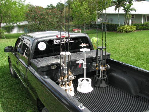 Fishing rod rack for truck and pole holder for Fishing rod rack for truck