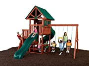 Southampton Wood Complete Ready-to-Assemble Swing Set Kit