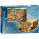 Ravensburger Coastal Retreats (500 Pieces, Pack of 2)