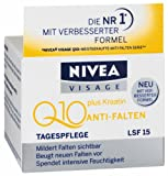Nivea Visage Q10 Plus Creatine Anti Wrinkle Day Cream 1.7oz. / 50ml NEW IMPROVED FORMULA